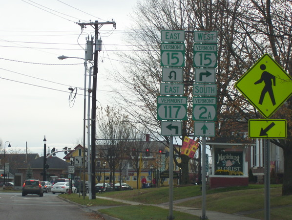 Essex Junction intersection