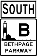 Bethpage Parkway south