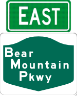 Bear Mountain Parkway east