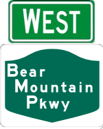 Bear Mountain Parkway west