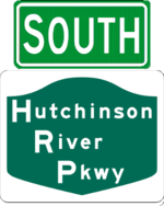 Hutchinson River Parkway south