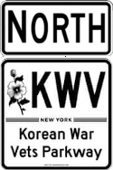 Korean War Veterans Parkway north