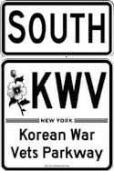 Korean War Veterans Parkway south