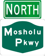 Mosholu Parkway north