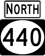 NJ 440 north
