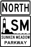 Sunken Meadow Parkway north