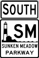 Sunken Meadow Parkway south