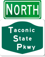 Taconic State Parkway north