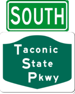 Taconic State Parkway south