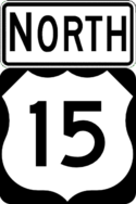 US 15 north