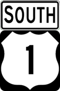 US 1 south