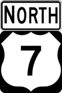 US 7 north