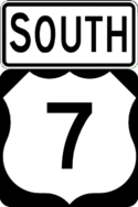 US 7 south