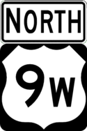 US 9W north